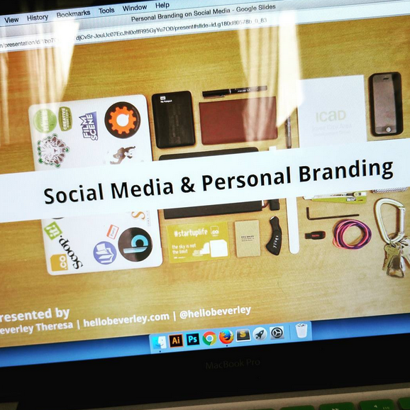 social media and personal branding photo