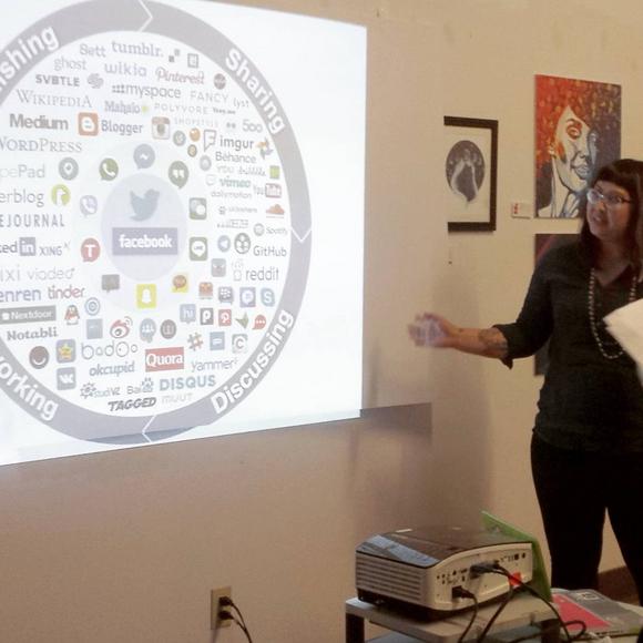 beverley showing the social media landscape